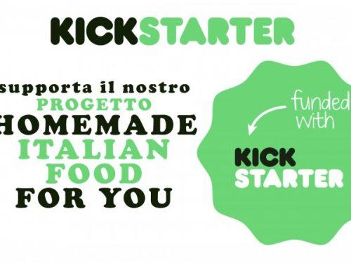 """Cucina Nostra su Kickstarter con """"Homemade italian food for you""""!"""