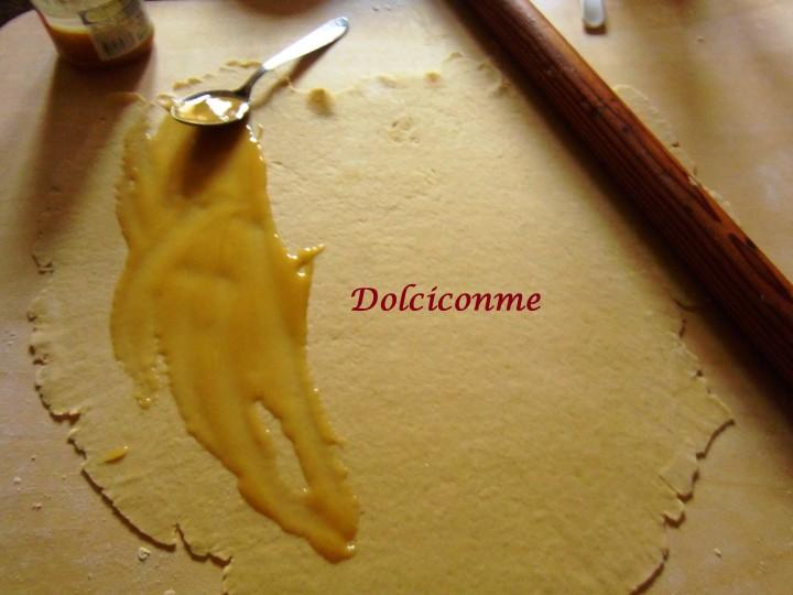 Preparazione Dolcetti al miele