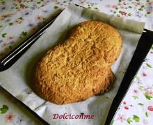 Buona Pasqua con il Biscotto giallo mandorlato! ¡Feliz Pascua con la Galleta de almendra amarilla!