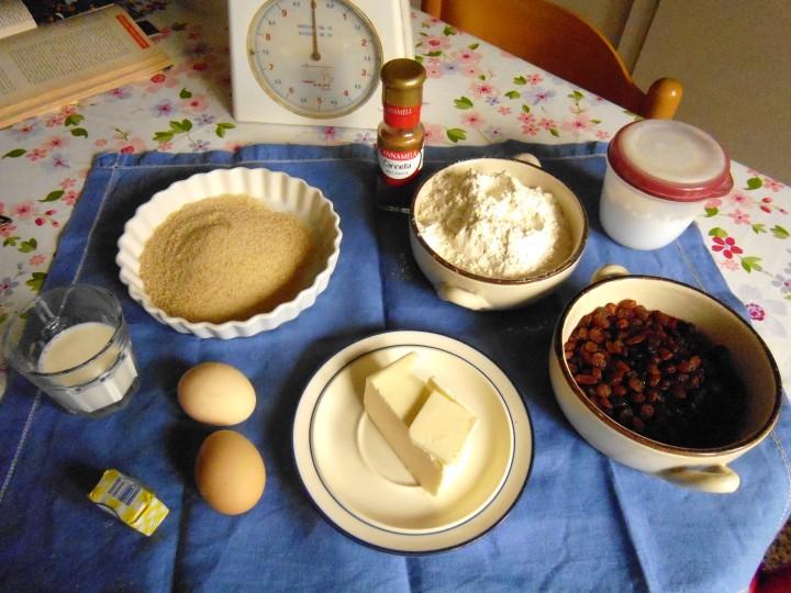 Ingredienti Torta brioche