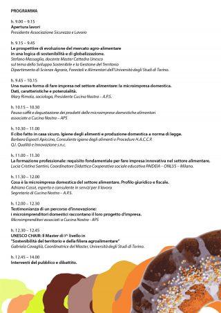 Programma Workshop a Torino 18 giugno 2016