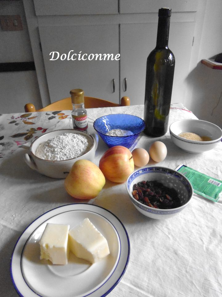 Ingredienti Rotolo dolce