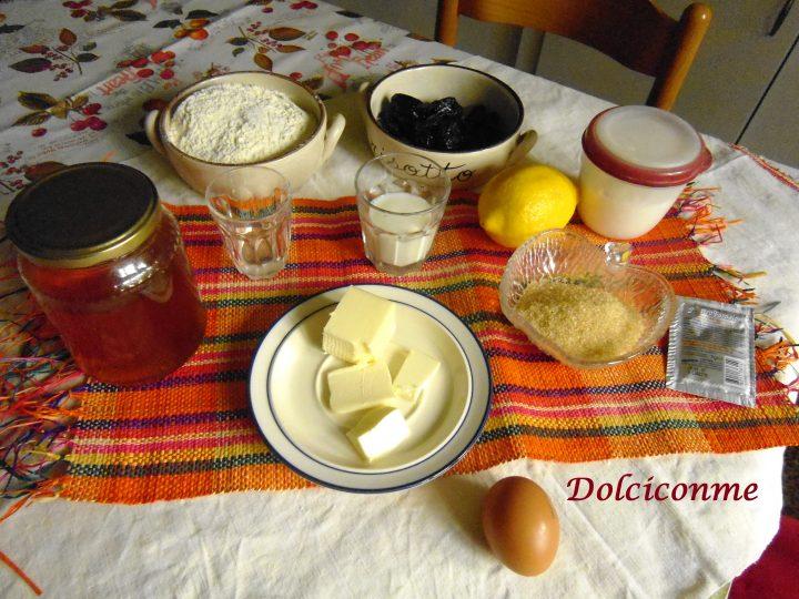 Ingredienti Rotolo con le prugne