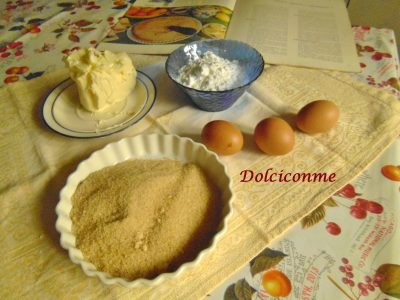Ingredienti Torta di fecola