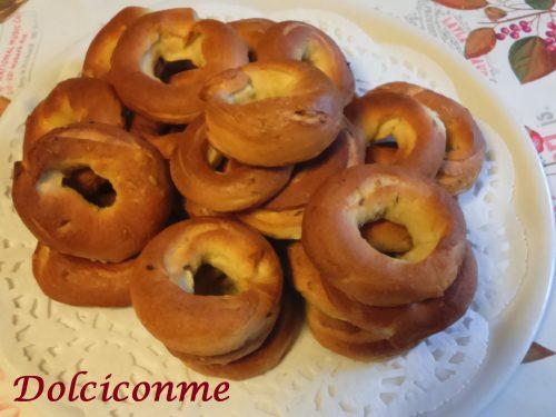 Le Ciambelle di Quaresima. Las Roscas de Cuaresma