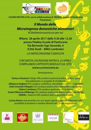 Locandina evento 28-04-2017 Milano