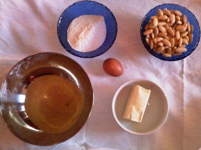 Ingredienti Biscotti di mandorle